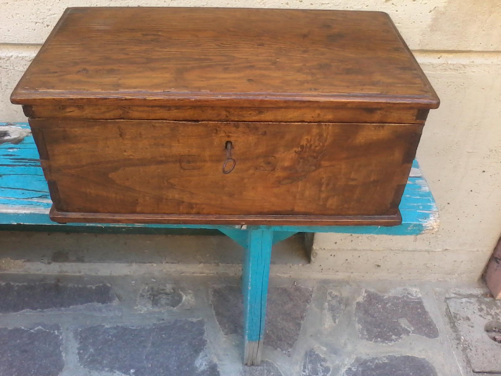 Anu baule bauletto cassapanca legno originale anni 20 for Cassapanca anni 50