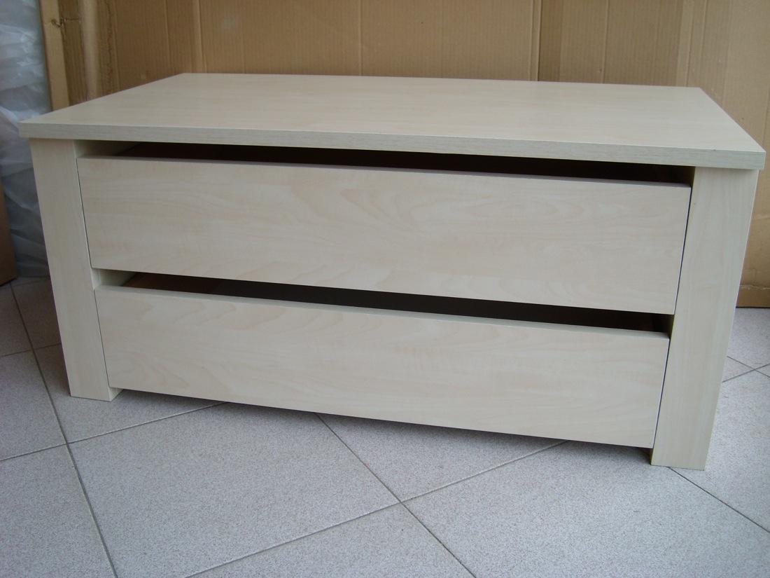 Cassettiera legno interno armadio cameretta 2 cassetti l - Cassettiera interno armadio ...