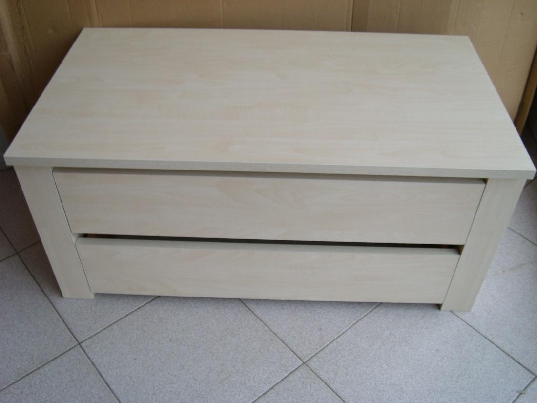 Cassettiera legno interno armadio cameretta 2 cassetti l for Cassettiera da armadio