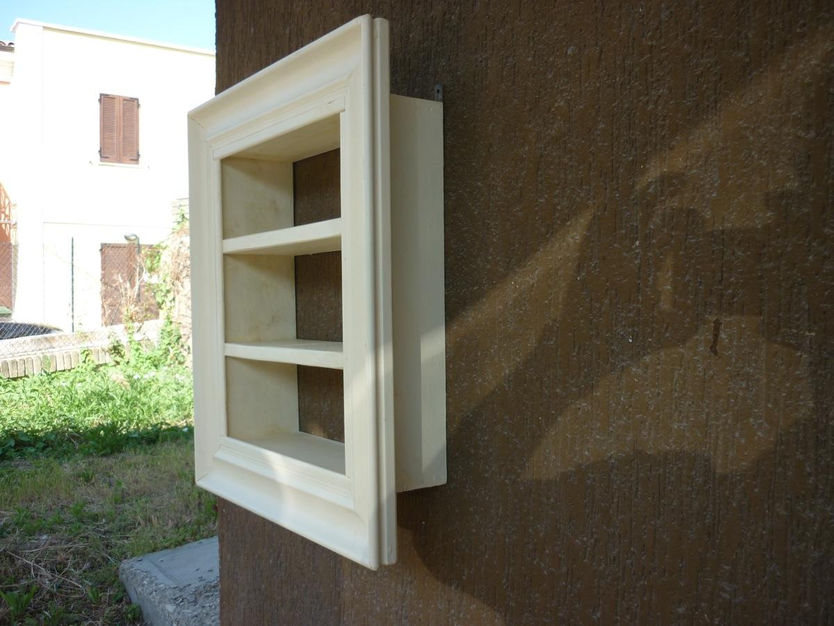 Ebay for Mensole legno bianco