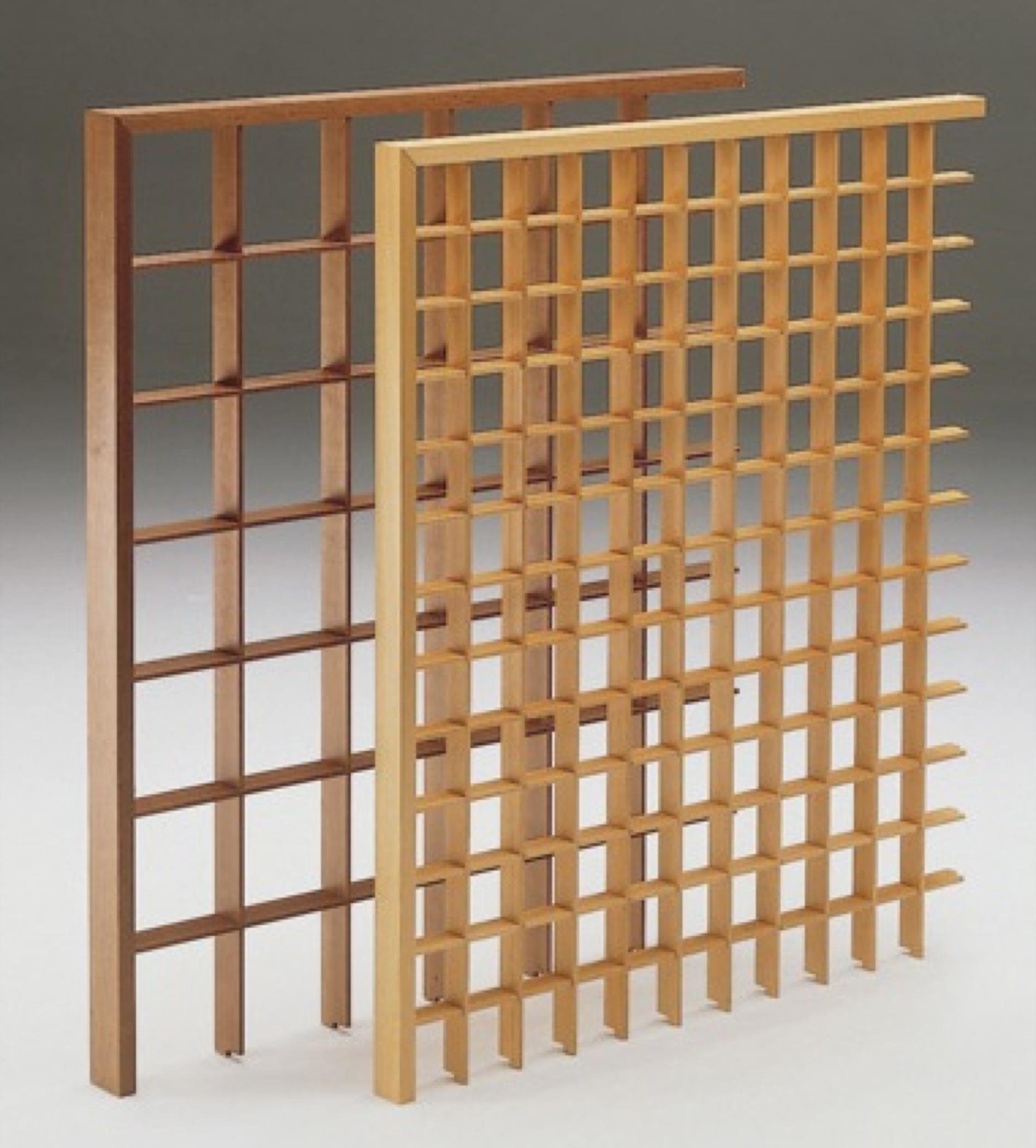 Profili aste legno per grigliati su misura recinzioni - Pannelli divisori giardino ...
