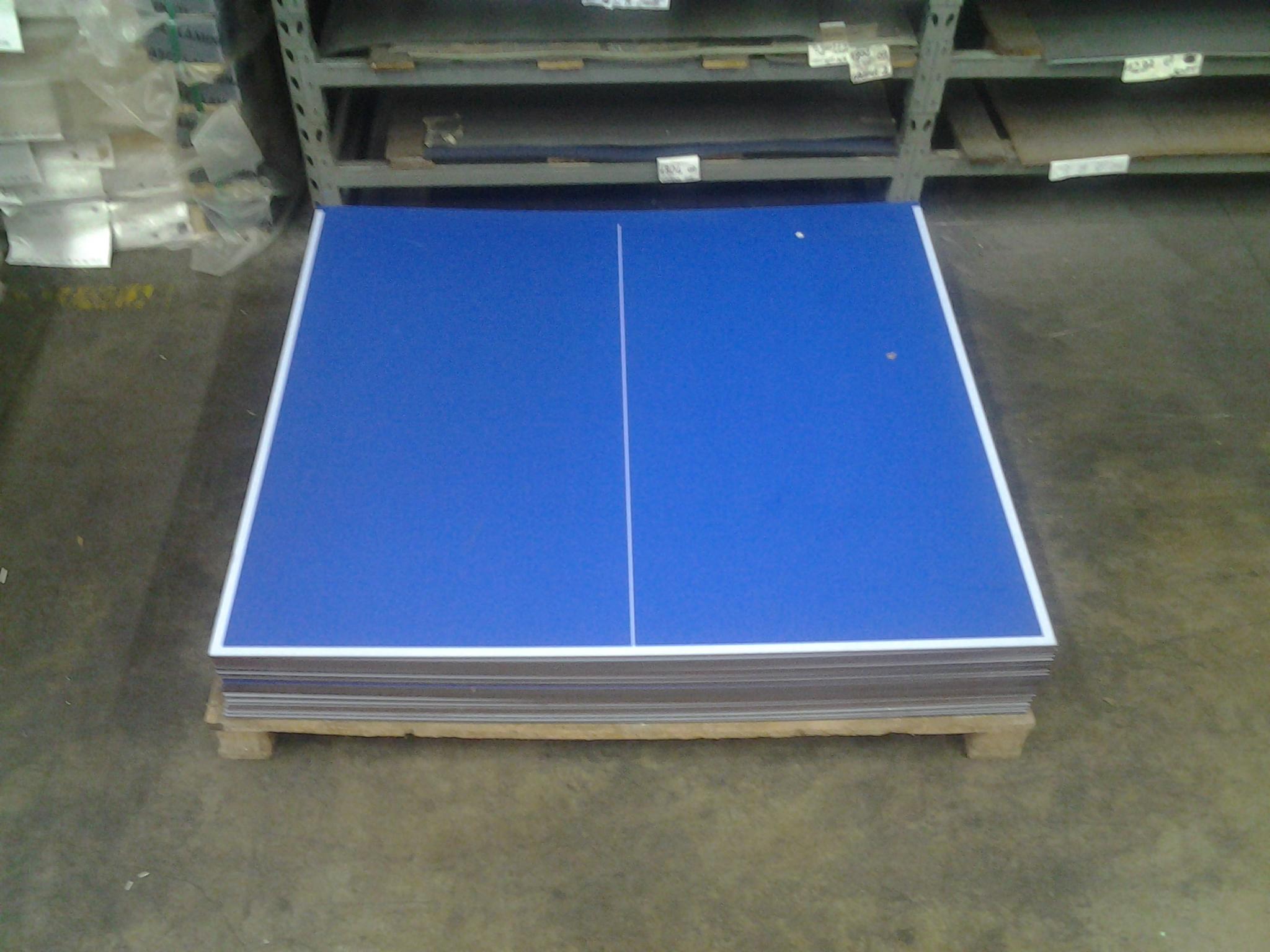 Piani serigrafati x tavolo tavolino ping pong da esterno - Misure tavolo ping pong regolamentare ...