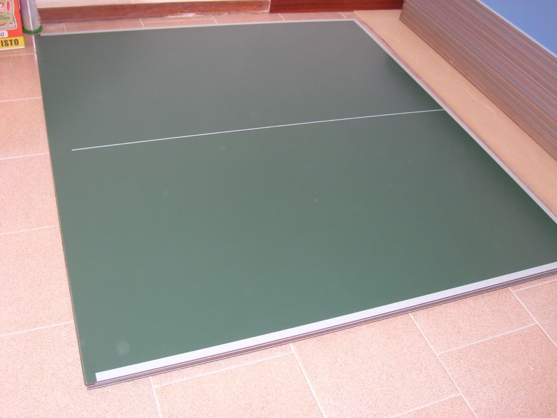 Tavolo tavolino ping pong esterno outdoor misure regolamentari professionale ebay - Misure tavolo da ping pong professionale ...