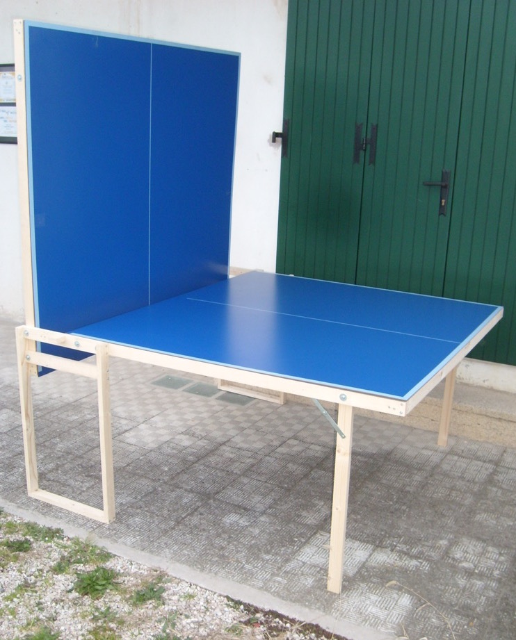 tavolo ping pong esterno outdoor pieghevole misure