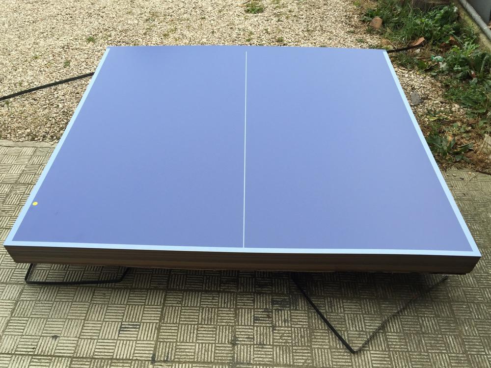 Piani per tavolo ping pong ping pong outdoor da esterno - Tavolo pieghevole fai da te ...
