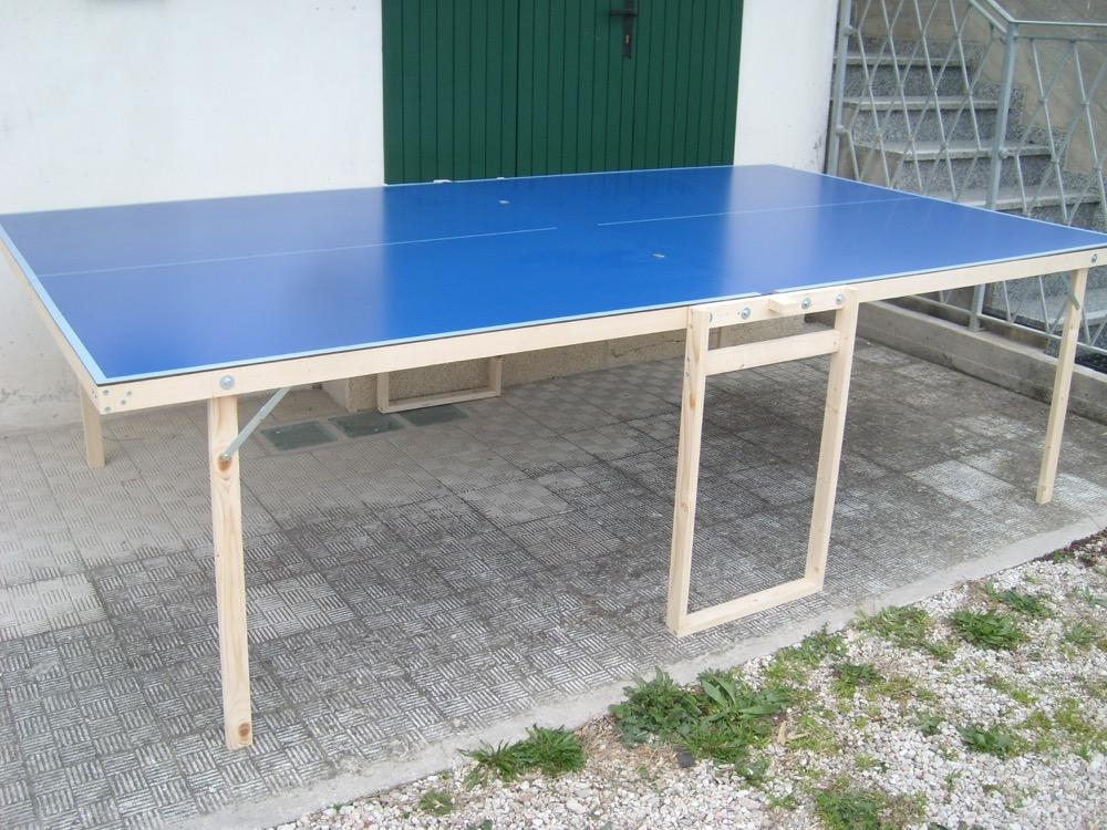 Tavolo da ping pong ping pong tennis table tavolino outdoor esterno pieghevole ebay - Tavolo da ping pong decathlon prezzi ...