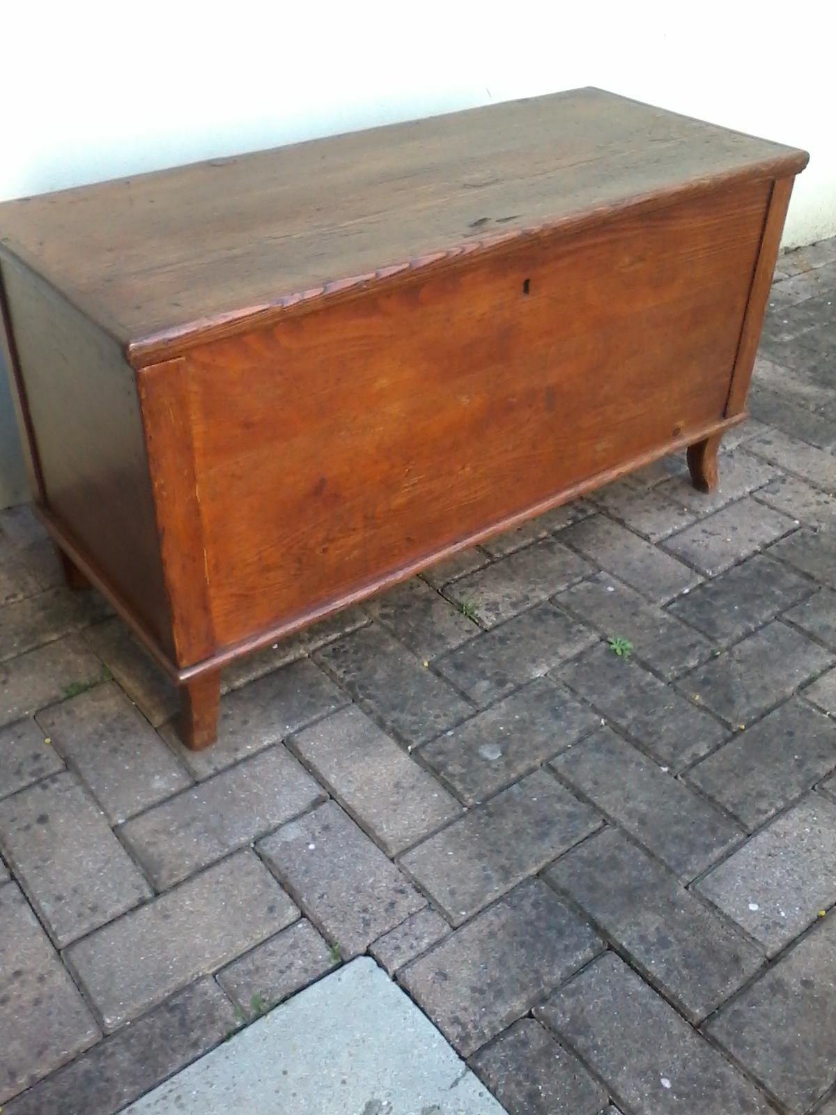 Anu cassapanca baule bauletto mobiletto legno antiquariato for Baule cassapanca legno
