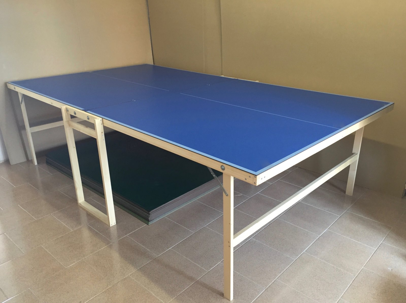 Ping pong ping pong outdoor tavolo tennis table pieghevole da esterno fai da te ebay - Tavolo ping pong misure regolamentari ...