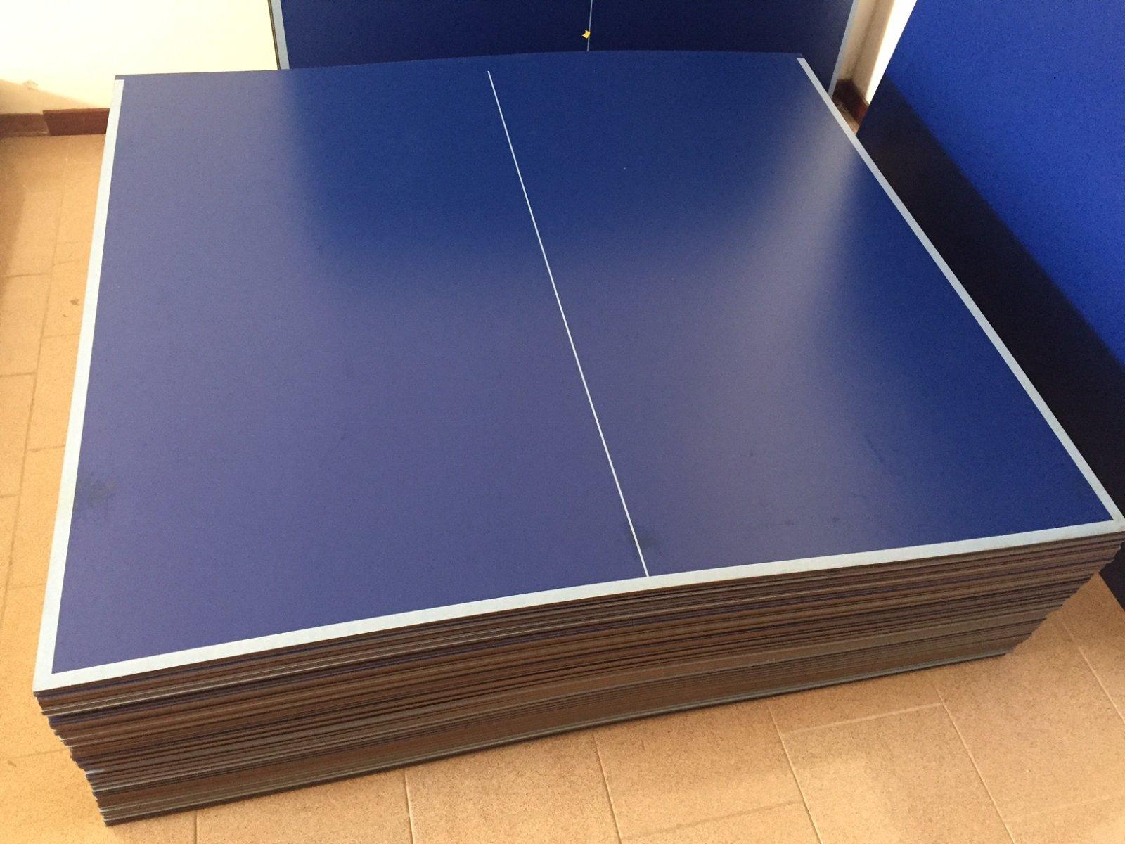 Coppia basi piani pannelli 3 scelta tavolo ping pong - Materiale tavolo ping pong ...
